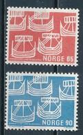 °°° NORWAY - Y&T N°534/35 - 1969 MNH °°° - Norvegia