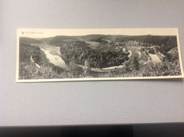 Alle S/Semois Panorama Longue Carte 28cm - Cartes Postales