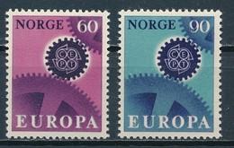 °°° NORWAY - Y&T N°509/10 - 1967 MNH °°° - Norvegia
