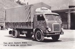 Cpa -73-ugine-pas Sur Delc.-camion Des Fils De L'entreprise J. Bianco-cliché Delemontex - Ugine