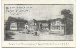 D62 -STELLA -COLONIE DE VACANCES VUE GENERALE DE L'OEUVRE ENTREPRISE PAR LE SYNDICAT GENERAL DU PERSONNEL DES T.C.R.P. - Frankrijk