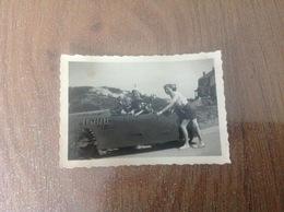 La Panne Petite Photo Originale Voiture Lunapark Chez Jean - Cartes Postales
