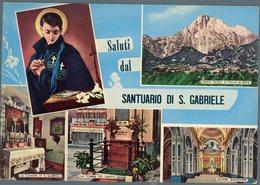 °°° Cartolina N. 272 Santuario Di S. Gabriele Viaggiata °°° - Teramo