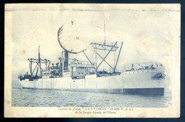 Cpa Navire Bateau Vapeur De Charge Le Saint Louis De La Société Navale De L' Ouest CC5 - Commerce