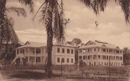 CONGO BELGE 1946  CARTE POSTALE DE KINSHASA BANQUE DU CONGO BELGE - Congo Belge - Autres