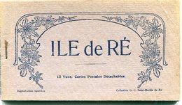 17 - Île De Ré : Carnet De 12 Vues - Ile De Ré