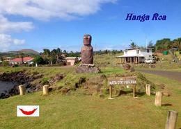 Easter Island Hanga Roa Ahu Mata Ote Vaikava Rapa Nui UNESCO New Postcard Osterinsel AK - Rapa Nui