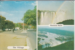 RHODESIA - VICTORIA FALLS & VILLAGE - Zimbabwe