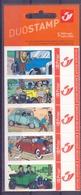 """België - 2004 - OBP - Duostamp  ** Kuifje """" Herge - Oldtimers ** - Belgique"""