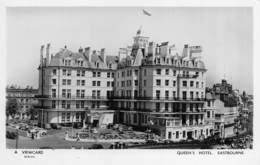 "M07936 "" QUEEN'S HOTEL-EASTBOURNE "" ANIMATA-VARIE AUTO ANNI'50 CART ORIG. SPED. - Eastbourne"