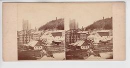 OLD PHOTO STEREO CARD - CZECH REPUBLIC - MARSCHENDORF - MARSOV - Repubblica Ceca