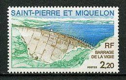 SPM MIQUELON 1976  N° 452 ** MNH Superbe Barrage De La Vigie - St.Pierre & Miquelon