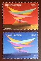 East Timor 2000 United Nations UNTAET Mission MNH - Timor Oriental