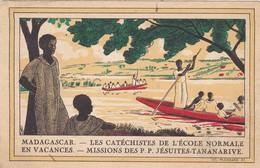 AFRIQUE. MADAGASCAR. TANANARIVE. LES CATÉCHISTES DE L'ECOLE NORMALE. ANNEE 1931 - Madagascar