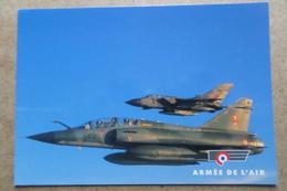 MIRAGE 2000N Et TORNADO GR1 - Patrouille Franco Britanique ( Avion, Aviation, Armée De L'Air ) - 1946-....: Ere Moderne