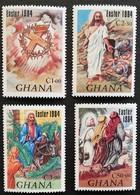 Ghana  1984 Easter M.N.H. - Ghana (1957-...)