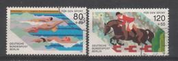 BERLIN 1986. Sport,  Michel Nr. 751-752  Komplette - Oblitérés
