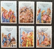 Ghana  1984 Christmas M.N.H. - Ghana (1957-...)
