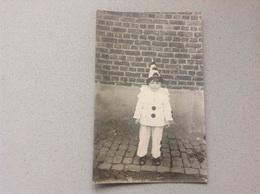 Photo Carte Carnaval Pierrot - Cartes Postales