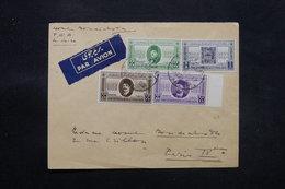 EGYPTE - Enveloppe Du Caire Pour Paris En 1946, Affranchissement Plaisant - L 27477 - Covers & Documents