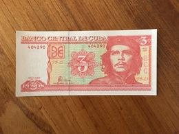 CUBA 3 Pesos Nacionales CUP - P 127 - 2005  - UNC - Cuba