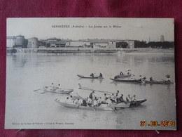 CPA - Serrières - Les Joutes Sur Le Rhône - Serrières