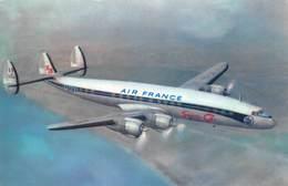 "D9202 ""AIR FRANCE - LOCHKEED SUPER G. CONSTELLATION"" CART SPED - Aerei"