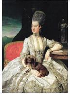 3001c: Kunst- AK Albertina: Erzherzogin Maria Christine 1776, Von Johann Zoffany - Familles Royales