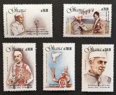 Ghana 1990 Jawaharlal Nehru M.N.H. - Ghana (1957-...)