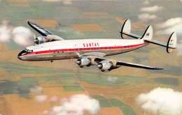 """D9203 """"QANTAS EMPIRE AIRWAI -LOCKHEED - SUPER CONSTELLATION"""" CART SPED - Aerei"""