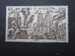 VEND BEAU TIMBRE DE POSTE AERIENNE DE S.P.M. N° 16 , (X) !!! - Poste Aérienne