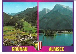 3001h: AK 4645 Grünau, Almtal, Almsee, Gelaufen - Gmunden