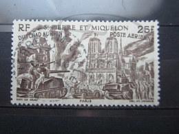 """VEND BEAU TIMBRE DE POSTE AERIENNE DE S.P.M. N° 16 , OBLITERATION """" ST-PIERRE ET MIQUELON """" !!! - Oblitérés"""
