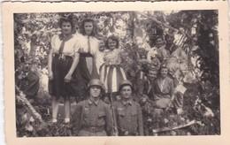 Guerre 1940 1945 Libération (dans Un Lot Provenant De Bastogne) Photo Carte - Photos