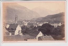 OLD PHOTO 16 X 11 CM - SWITZERLAND - GLARUS - GL Glaris