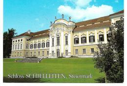 3001j: AK 8223 Stubenberg, Schloss Schielleiten, Ungelaufen - Hartberg