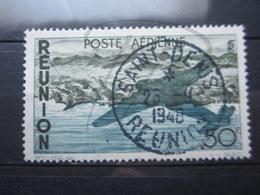 """VEND BEAU TIMBRE DE POSTE AERIENNE DE LA REUNION N° 42 , OBLITERATION """" ST-DENIS """" !!! - Reunion Island (1852-1975)"""