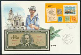 Geldschein Banknote Banknotenbrief Cuba 1984 Schön Und Exotisches Motiv   - Banknoten