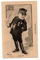 Dessin Caricature JOFFRE * Jumelle * Morinet - Personnages