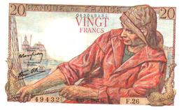 Billet > France > 20  Francs   L.21=5=1942.L. - 20 F 1942-1950 ''Pêcheur''