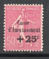 YT 254 A - Neuf ** Variété Sans Point Sur Le I D'amortissement - Caisse D'Amortissement