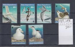 Ross (BBK) Michel Cat.No. Mnh/** 44/49 Wwf Issue Birds - Dépendance De Ross (Nouvelle Zélande)