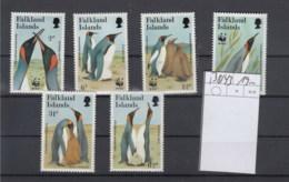 Falkland Inseln (BBK) Michel Cat.No. Mnh/** 538/543 Wwf Issue Birds - Falkland