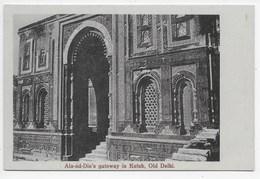Old Delhi - Ala-ud-Din's Gateway In Kutub - India