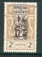 DAHOMEY- Y&T N°160- Oblitéré - Bénin – Dahomey (1960-...)