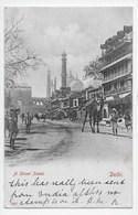 Delhi - Street Scene - Undivided Back - Inde