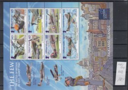 Falkland Inseln (BBK) Michel Cat.No. Mnh/** Sheet 1102/1109 - Falkland