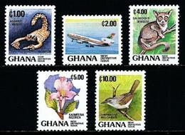 Ghana Nº 796/800 Nuevo - Ghana (1957-...)