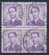 "BELGIE - OBP Nr 1029 - Blok Van 4 -  Cachet  ""BOUTERSEM"" - (ref. ST-1087) - 1953-1972 Brillen"
