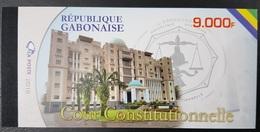 GABON 2018 / 2019 COUR CONSTITUTIONNELLE CONSTITUTION JUSTICE JUGE COLLEGE - CARNET BOOKLET 5 SHEETS RARE MNH (12 SCANS) - Jobs